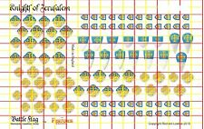 The Knights of Jerusalem . Official Fireforge Decals with Battle Damage