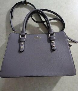 KATE SPADE New York(New) Gray Crossbody Shoulder/Handbag w/Handles