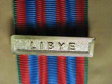 Agrafe LIBYE  pour la Médaille Commémorative Française