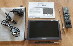 """MOONRAKER DVB-W9 9"""" 12/24/240V LCD PORTABLE MINI TV, CARAVAN/MOTORHOME ETC"""