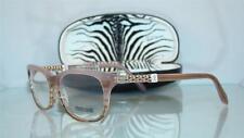 Roberto Cavalli Barbados 706 059 Rose Crystal Glasses Eyeglasses Frames Size 54