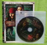 Pirates of the Caribbean: Dead Mans Chest (DVD, 2006, 2-Disc Set, Widescreen)