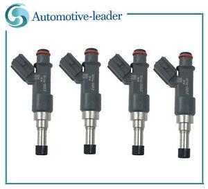 4Pcs New Fuel injectors For 2005-2013 Toyota Tacoma 4Runner 2.7L 23250-75100