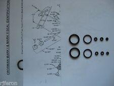 Crosman Mark I Mark II MK 1 2 - TWO (2) Seal Reseal Kit Kits - Guide & Expl View