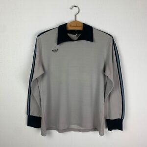 ADIDAS FOOTBALL SHIRT #1 VINTAGE 70s SOCCER JERSEY SIZE S