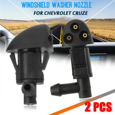 2PCS Plastic Water Wiper Nozzle Car Windshield Washer Spray For Chevrolet Cruze