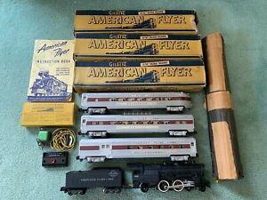 American Flyer #K5418T Black Diamond CHESTNUT Passenger set 303 960/2/3 + boxes