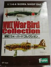 F-toys 1/144 scale WWII WAR BIRD COLLECTION Vol.7  #3A BOXED    WW2