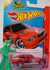 Q 2014 i Hot Wheels '94 BMW E36 M3 RACE GTR #169∞Red; Blue,White,Black 36∞Race