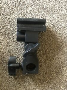 UK B Type Hot shoe Flash Flashgun Speedlite Bracket Umbrella Holder Light Stand