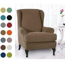 Housse chaise inclinable Housses canapé extensible à oreilles Housse fauteuil SH