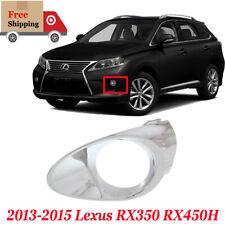 For 2013 2015 Lexus Rx350 Rx450h New Fog Light Trim Right Side Chrome Lx1039105 Fits 2013 Lexus Rx350