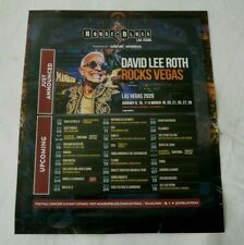 David Lee Roth House Of Blues Vegas Residency Shows Large Display Ad With Bonus
