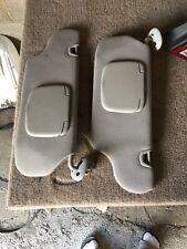2003 Sunvisors Pair  Ford Taurus OEM Grey  (PAIR)