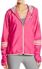 Adidas Response 3 Stripe Womens Running Jacket - Pink
