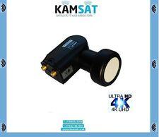 TWIN 4K LNB 40mm 0,1 dB FULL HD 3D NC + cyfrowy POLSAT CIELO