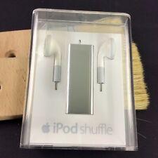 Apple iPod Shuffle 3.Generation 4GB Ovp Edelstahl Steel MC303QG/A Neu #5949