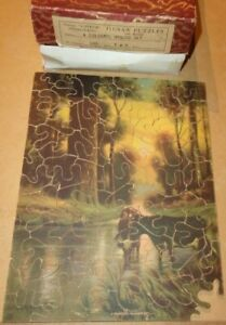 Vintage Wooden Jigsaw Puzzle Superior InterlockingA Peaceful Summer Day1007x9