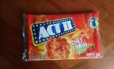Act II Popcorn~Mexican Flavor~Chili and Lime~Spicy and Tangy~Pack of 6~93.5gr