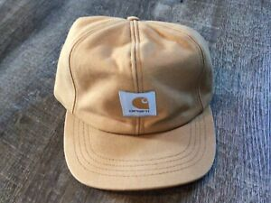 Vintage Carhartt Cap Hat Size Small Duck Canvas Ear Flaps Insulated