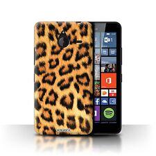 Stuff4 Hülle/Case für Microsoft Lumia 640 XL/Leopard/Tierpelz Muster