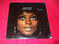 DIANA ROSS ~ SURRENDER LP NEAR  MINT / USED