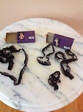 Maison Close I am Not Naked Novelty Bra and Panty Set in Blk One Size Brand New!