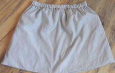 Satin Machine Washable Mini Skirts for Women