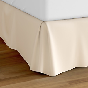 """Cosy House Collection Luxury Bed Skirt Pleated Dust Ruffle 14"""" Tailored Drop"""