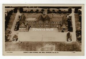 LONDON, ROMFORD, COUNTY HIGH SCHOOL FOR GIRLS, AERIAL VIEW, RP