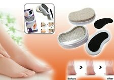 Elegance 3 In 1 Pedicure Set,Emery Smoother Callus Remover Pumice Stone Buffer