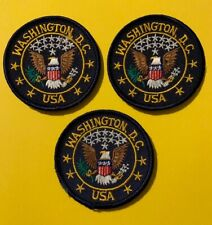 3 lot of Washington DC USA Patches Patch  569S