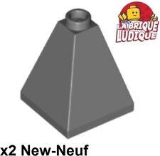 Lego 2x slope brique pente inclinée 33 3x3 convex vert pale//sand green 3675 NEUF