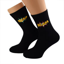 Cool Blam Pow Design Mens Socks UK Size 5-12 - X6S158