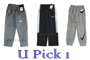 Nike Athletic Pants Long Sports Active little Boys Youth Warm Sweat Pant kids