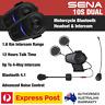 SENA 10S DUAL Pack Motorcycle Bluetooth 4.1 Long Range Intercom