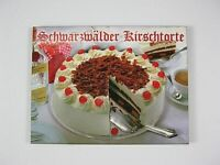 Schwarzwald Kirschtorte Germany,2D Holz Magnet,Souvenir Deutschland