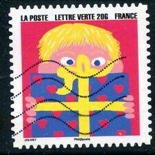 TIMBRE FRANCE  AUTOADHESIF OBLITERE N° 1200 / BONNE ANNEE / FETE DE FIN D'ANNEE