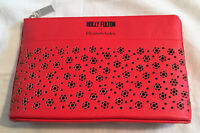 Holly Fulton for Elizabeth Arden Red Makeup / Cosmetics Bag NEW