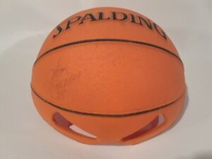 Felton Spencer #50 NBA Signed FOAM Basketball HAT w/ Eye Slots Vintage Spalding