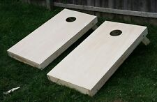 High Quality..Handmade Unfinished Cornhole Bag toss boards