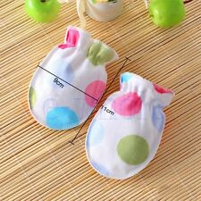 6X Anti Scratch Mittens Newborn Baby Girl/Boy Glove Infant Cotton Handguard EW