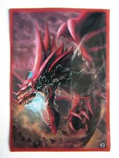 50 Yugioh Small Size Card Sleeves Deck Protector - Slifer The Sky Dragon