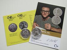 República Checa 2017 200 coronas moneda de plata coin St bu hgh-María Teresa -
