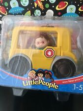 Little People Maggie Figure with School Bus New, Sealed  1-5