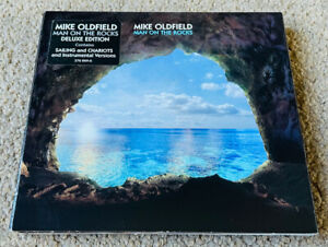 Mike Oldfield – Man On The Rocks (2014 Virgin) Deluxe 2CD Double CD Digipak Case