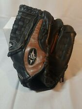 """Easton Black and Brown Leather Glove Typhoon 12.5"""" Pattern Right Hand Throw"""