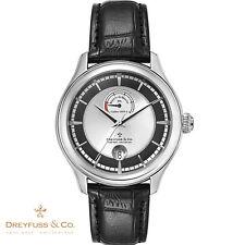 DREYFUSS & CO. dgs00110/04. réserve de marche. Bracelet Montre Messieurs. Nouveau