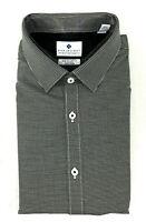 Ryan Seacrest Men's Slim Fit Dress Shirt, Woven Print, Size 16.5 36/37