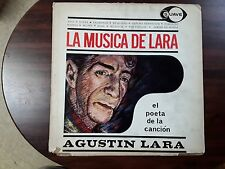 Agustin Lara La Musica de Lara El Poeta de la Cancion Latin LP Suave FREE SHIP